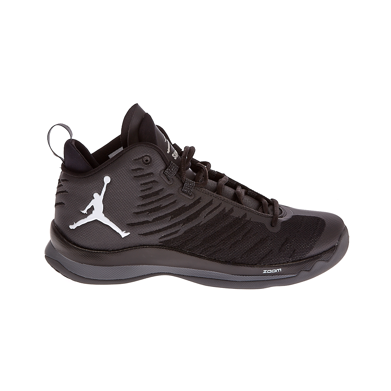 NIKE - Αντρικά παπούτσια ΝΙΚΕ JORDAN SUPER.FLY 5 μαύρα ανδρικά παπούτσια αθλητικά basketball