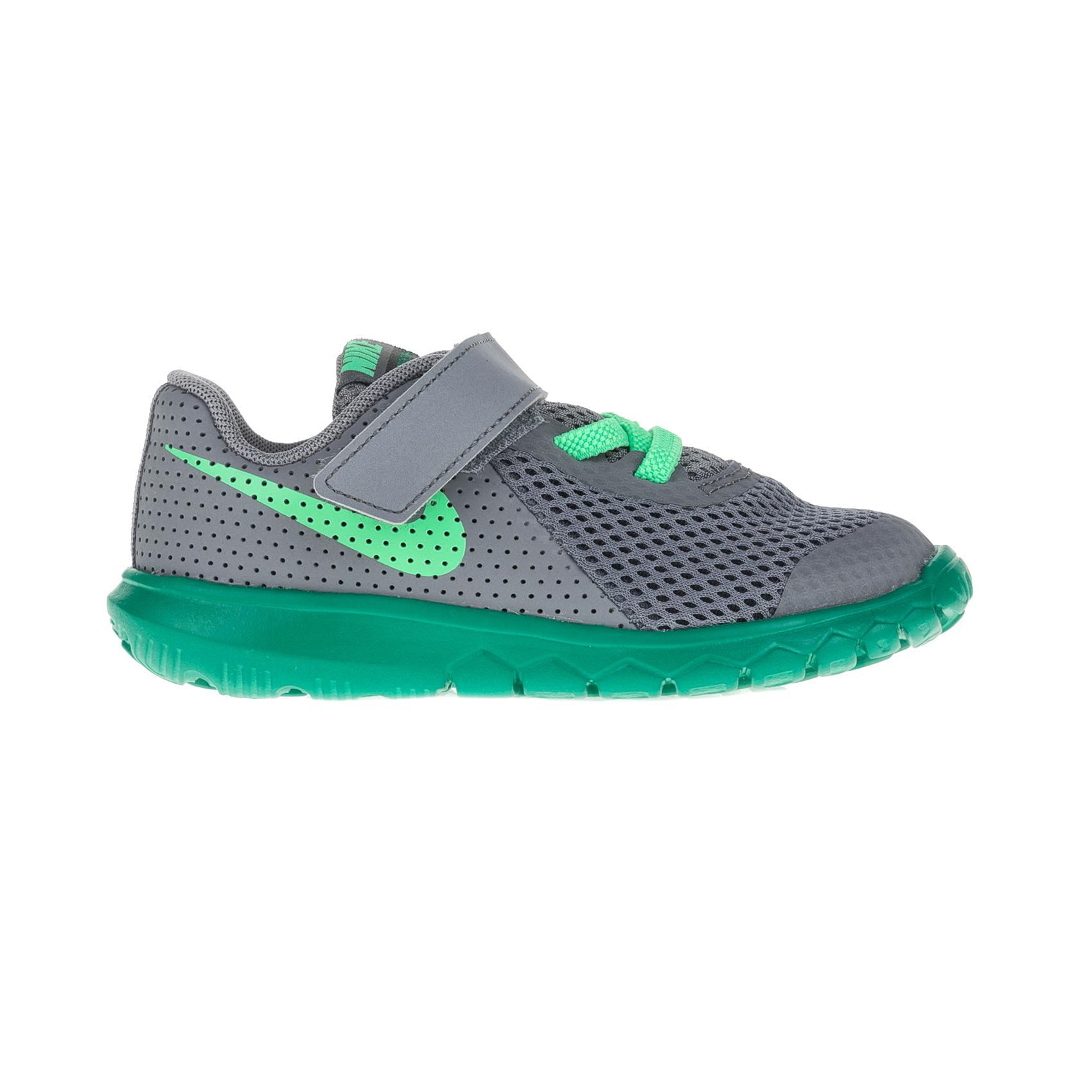 NIKE – Παιδικά αθλητικά παπούτσια Nike FLEX EXPERIENCE 5 (TDV) γκρι – πράσινα