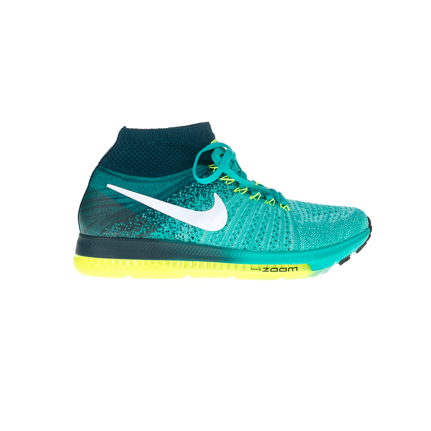 NIKE – Γυναικεία παπούτσια NIKE ZOOM ALL OUT FLYKNIT πράσινα