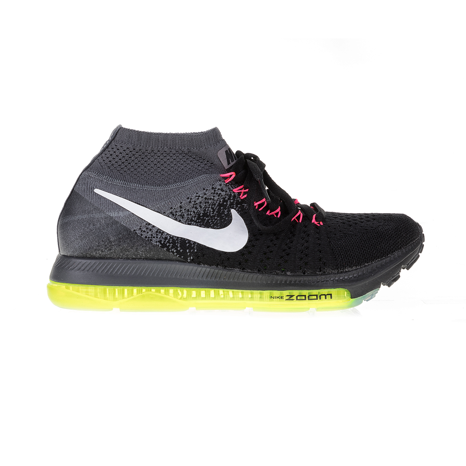 NIKE – Γυναικεία αθλητικά παπούτσια NIKE ZOOM ALL OUT FLYKNIT μαύρα-γκρι