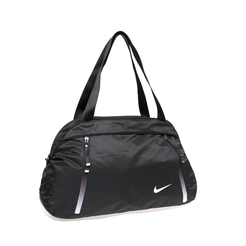 NIKE – Γυναικεία αθλητική τσάντα NΙKΕ AURA CLUB – SOLID μαύρη 1468782.1-7173