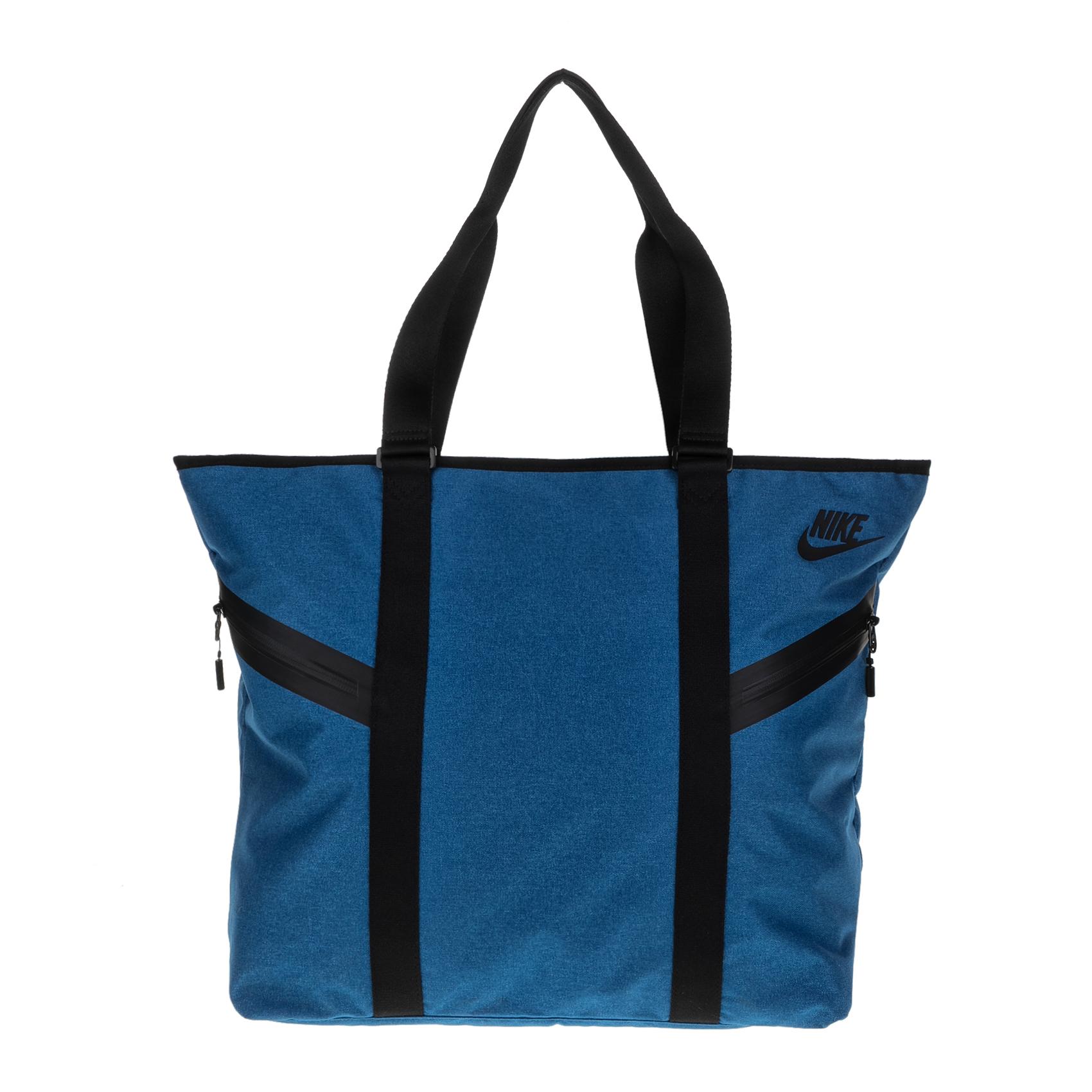 9248b25739 NIKE - Γυναικεία τσάντα ωμου Nike AZEDA TOTE PREMIUM μπλε