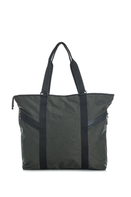 abee6c2b25 NIKE - Γυναικεία τσάντα ωμου Nike AZEDA TOTE PREMIUM ανθρακί