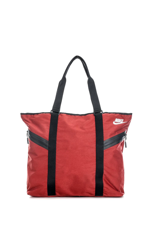 d310fabaae NIKE - Γυναικεία τσάντα ώμου Nike AZEDA TOTE PREMIUM κόκκινη