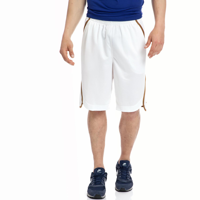 NIKE - Αντρική βερμούδα NIKE άσπρη ανδρικά ρούχα σορτς βερμούδες αθλητικά