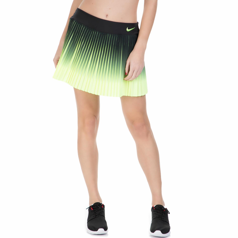 NIKE – Γυναικεία φούστα για τένις Nike FLX VCTRY μαύρη – κίτρινη