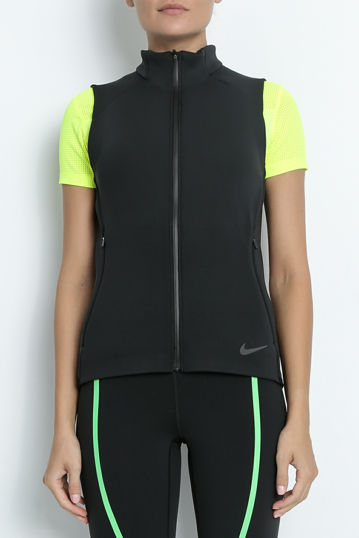 NIKE – Γυναικείο αθλητικό γιλέκο Nike Therme Sphere μαύρο