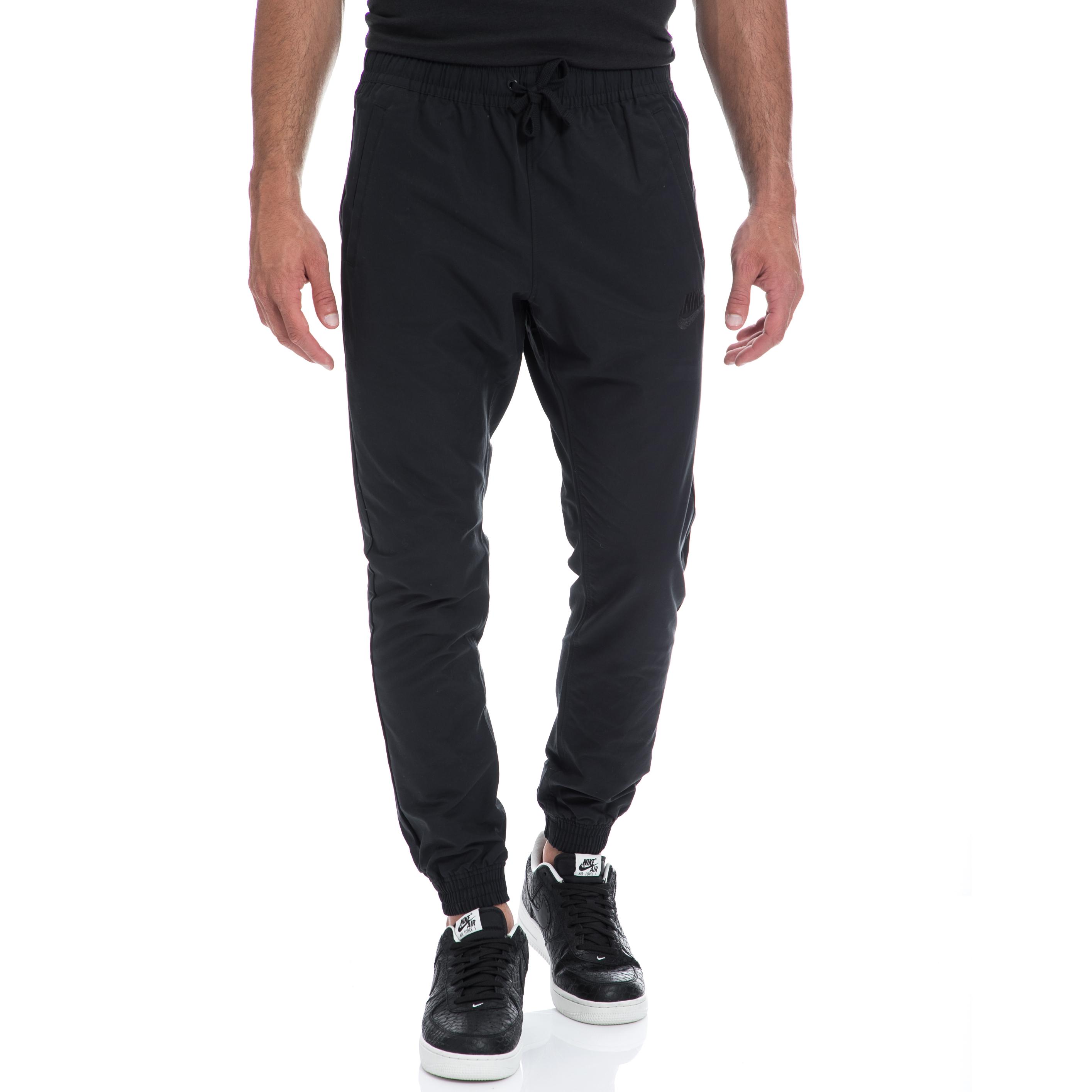NIKE - Αντρική φόρμα NIKE μαύρη ανδρικά ρούχα αθλητικά φόρμες