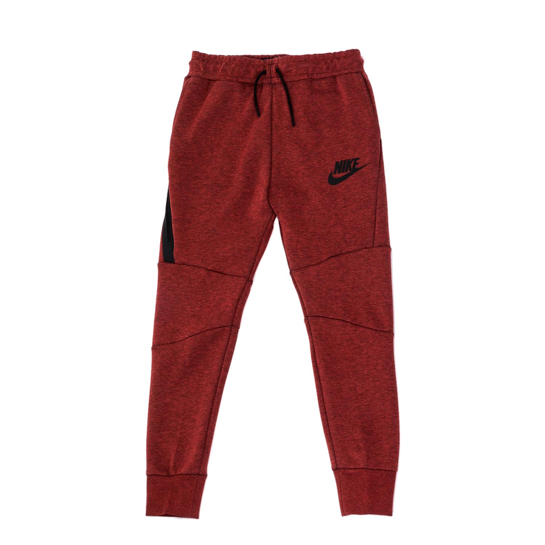 NIKE – Αγορίστικο παντελόνι φόρμας Nike κόκκινο