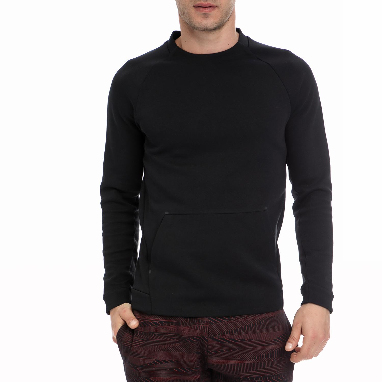 NIKE - Ανδρική μπλούζα Nike μαύρη ανδρικά ρούχα αθλητικά φούτερ μακρυμάνικα