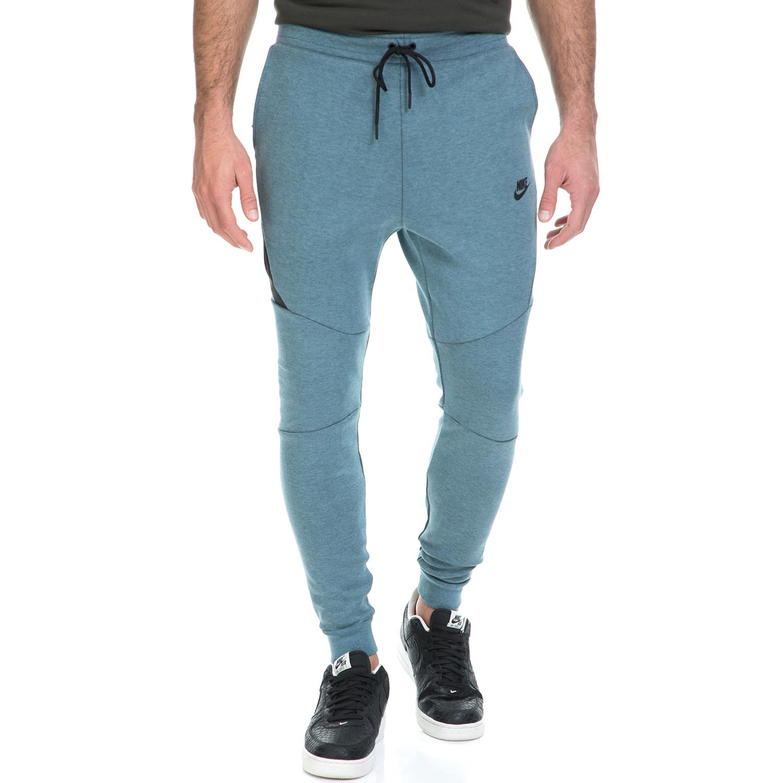 NIKE - Ανδρική φόρμα ΝΙΚΕ NSW TCH FLC JGGR μπλε ανδρικά ρούχα αθλητικά φόρμες