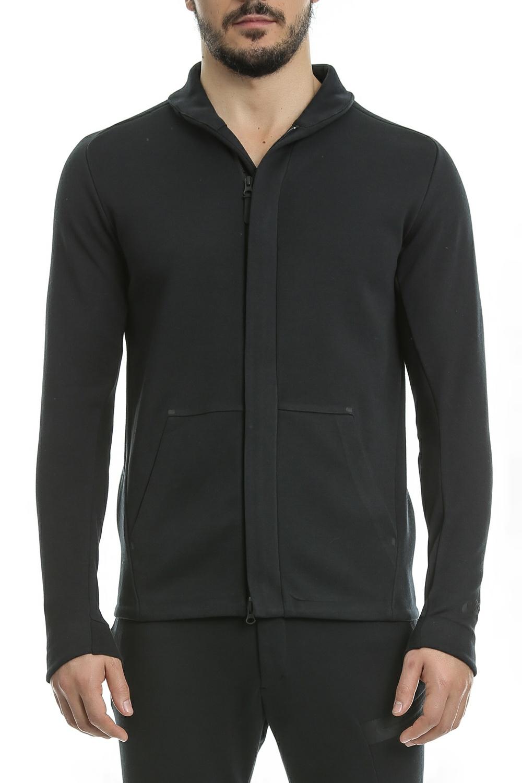 NIKE - Ανδρική ζακέτα Nike SW TCH FLC JKT μαύρη ανδρικά ρούχα αθλητικά φούτερ μακρυμάνικα