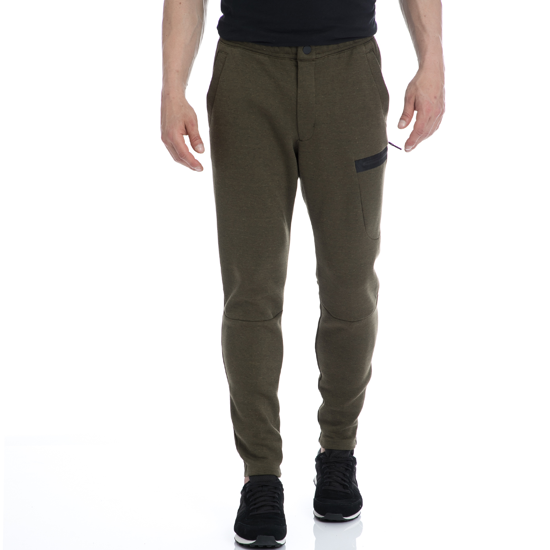 NIKE - Αντρικό παντελόνι NIKE λαδί ανδρικά ρούχα αθλητικά φόρμες