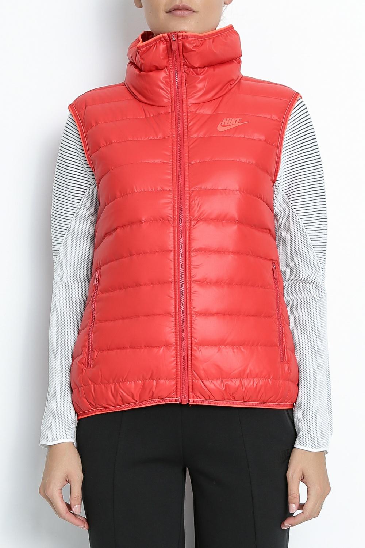 NIKE – Γυναικείο αμάνικο μπουφάν Nike SW DWN FLL κόκκινο