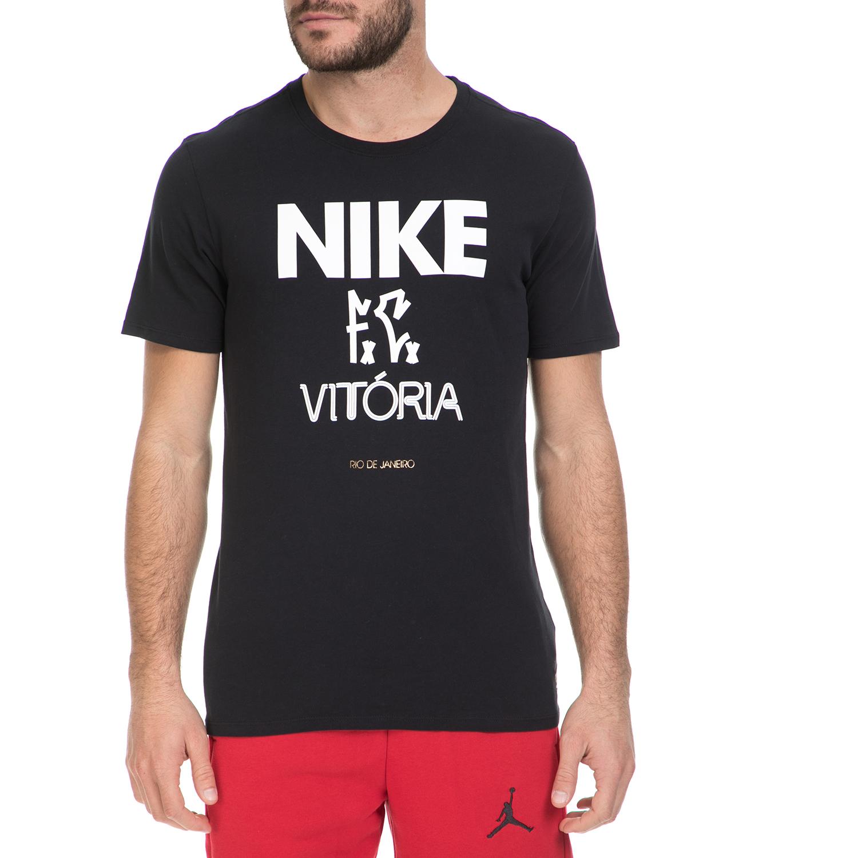 NIKE - Ανδρικό T-shirt NIKE FC VITORIA μαύρο ανδρικά ρούχα αθλητικά t shirt