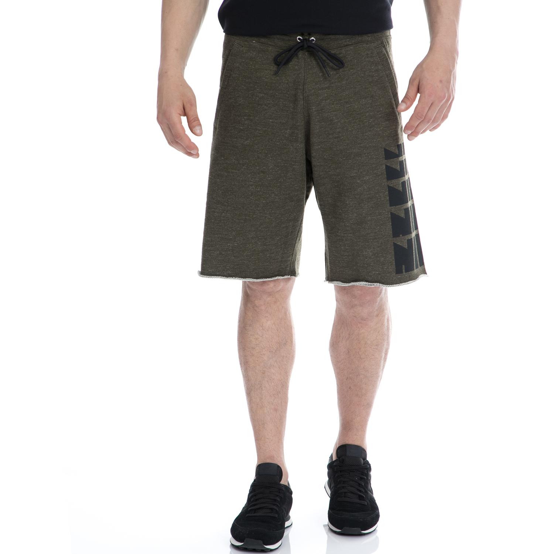 NIKE - Αντρική βερμούδα NIKE χακί ανδρικά ρούχα σορτς βερμούδες αθλητικά
