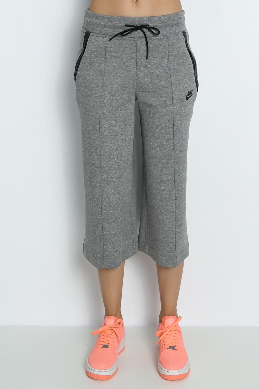 NIKE – Γυναικεία crop φόρμα Nike γκρι