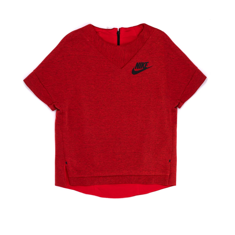 NIKE – Παιδική μπλούζα NIKE κόκκινη