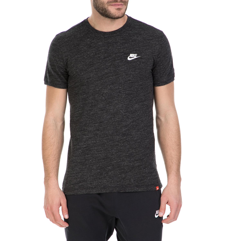 NIKE - Κοντομάνικη μπλούζα Nike σκούρο γκρι ανδρικά ρούχα αθλητικά t shirt