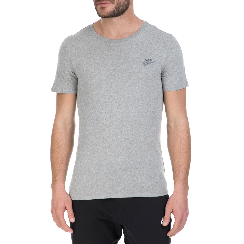 NIKE – Κοντομάνικη μπλούζα Nike γκρι