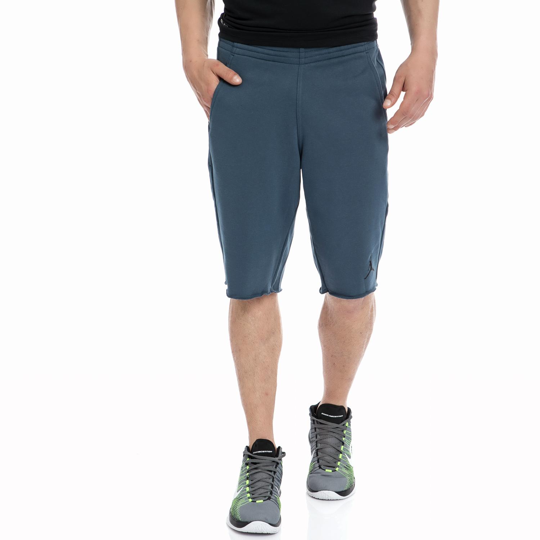 NIKE - Αντρική βερμούδα NIKE μπλε ανδρικά ρούχα σορτς βερμούδες αθλητικά