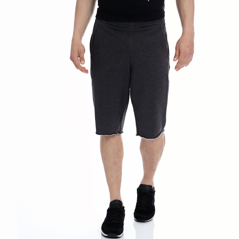 NIKE - Αντρική βερμούδα NIKE γκρι ανδρικά ρούχα σορτς βερμούδες αθλητικά