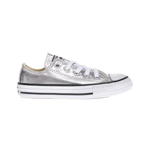 286c80a1ac8 Παιδικά παπούτσια Chuck Taylor All Star Ox ασημί - CONVERSE ...