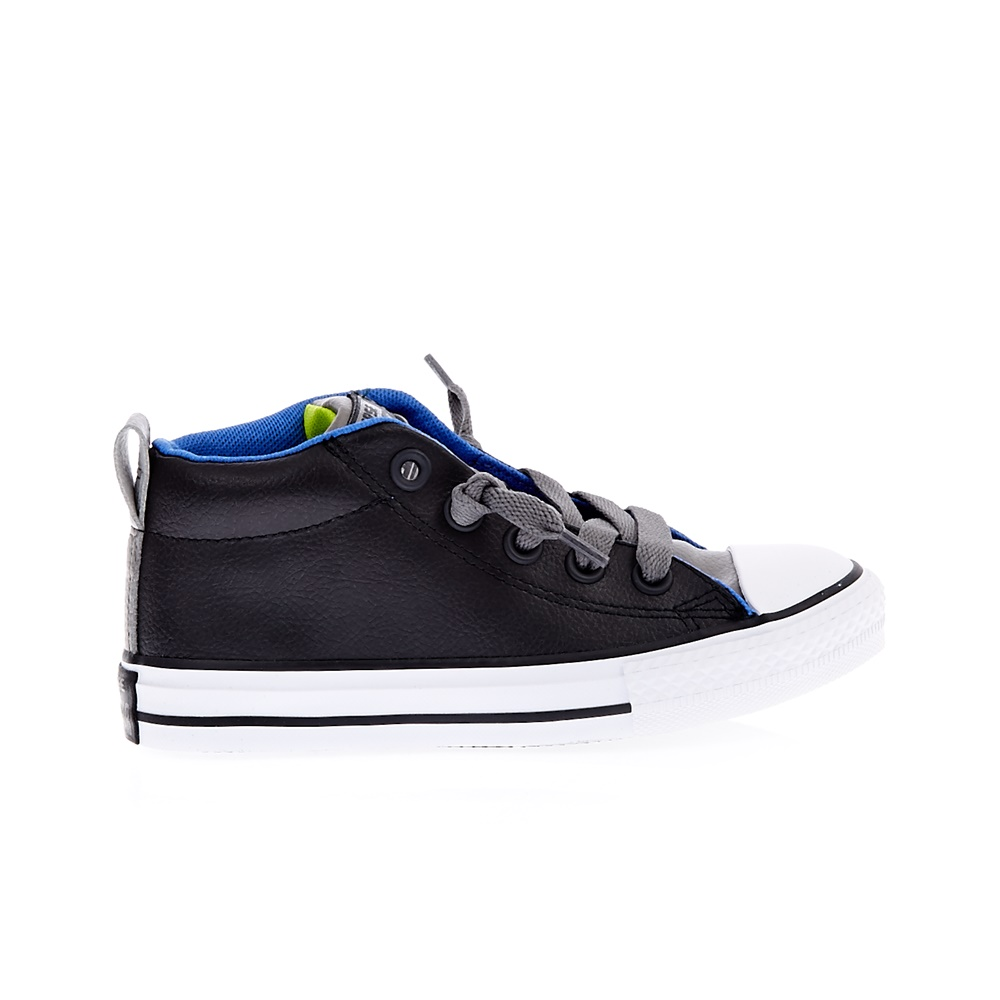 CONVERSE – Παιδικά παπούτσια Chuck Taylor All Star Street M ανθρακί-μαύρα