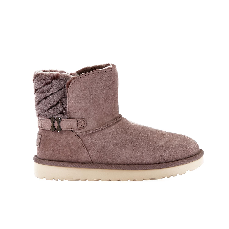 UGG AUSTRALIA - Γυναικεία μποτάκια Ugg Australia γκρι γυναικεία παπούτσια μπότες μποτάκια μποτάκια