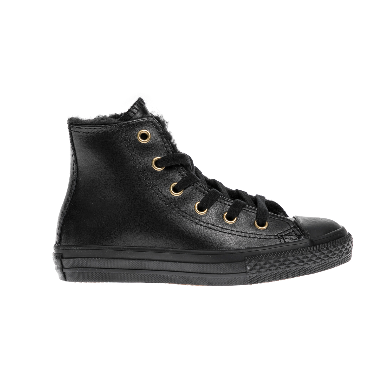 CONVERSE – Παιδικά μποτάκια Chuck Taylor All Star Hi μαύρα