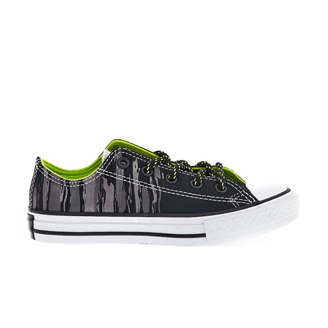 CONVERSE-Παιδικά παπούτσια Chuck Taylor All Star Ox μαύρα-ανθρακί