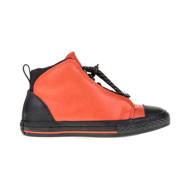 CONVERSE – Παιδικά αθλητικά μποτάκια Chuck Taylor All Star Storm Ju μαύρα-πορτοκαλί
