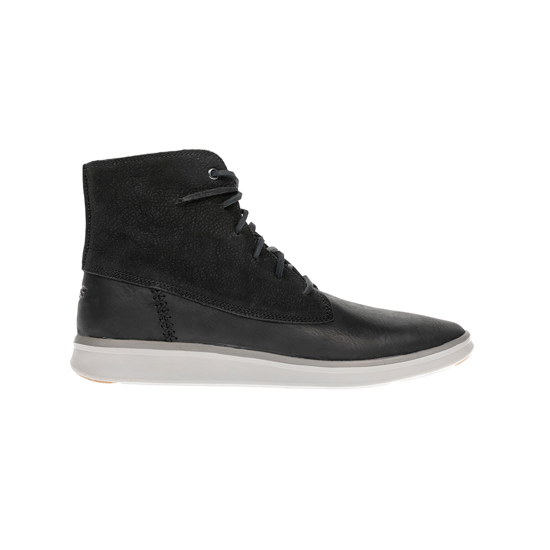 UGG AUSTRALIA - Αντρικά μποτάκια UGG AUSTRALIA Lamont μαύρα ανδρικά παπούτσια μπότες μποτάκια μποτάκια