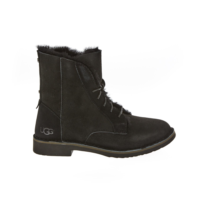 UGG AUSTRALIA - Γυναικεία μποτάκια UGG QUINCY μαύρα γυναικεία παπούτσια μπότες μποτάκια μπότες