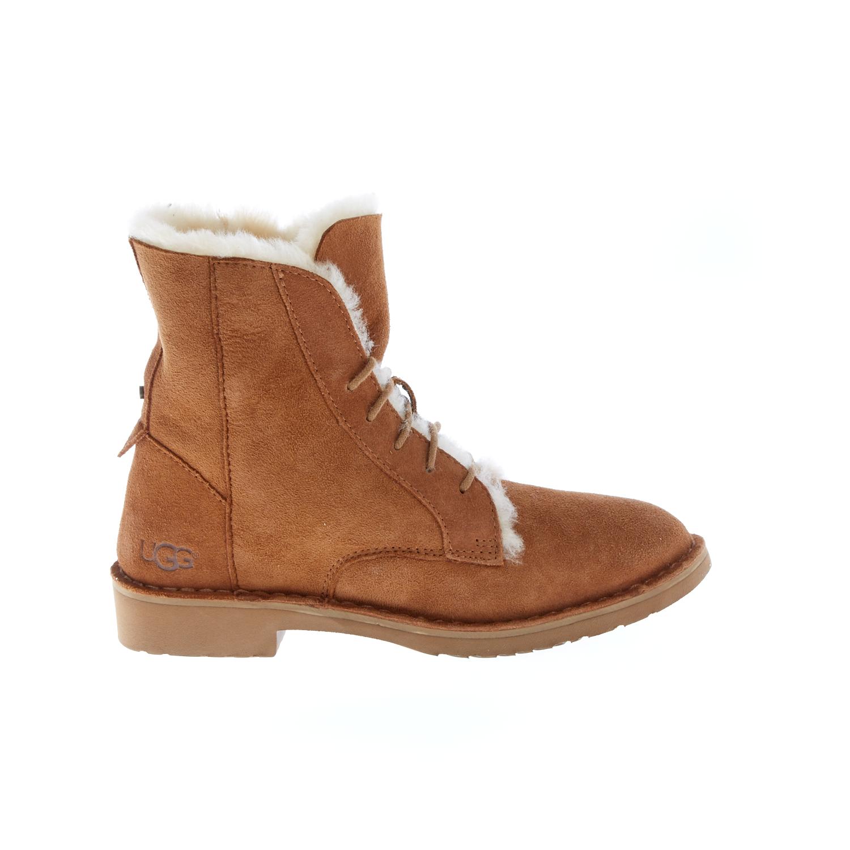 UGG AUSTRALIA - Γυναικεία μποτάκια UGG QUINCY καφέ γυναικεία παπούτσια μπότες μποτάκια μπότες