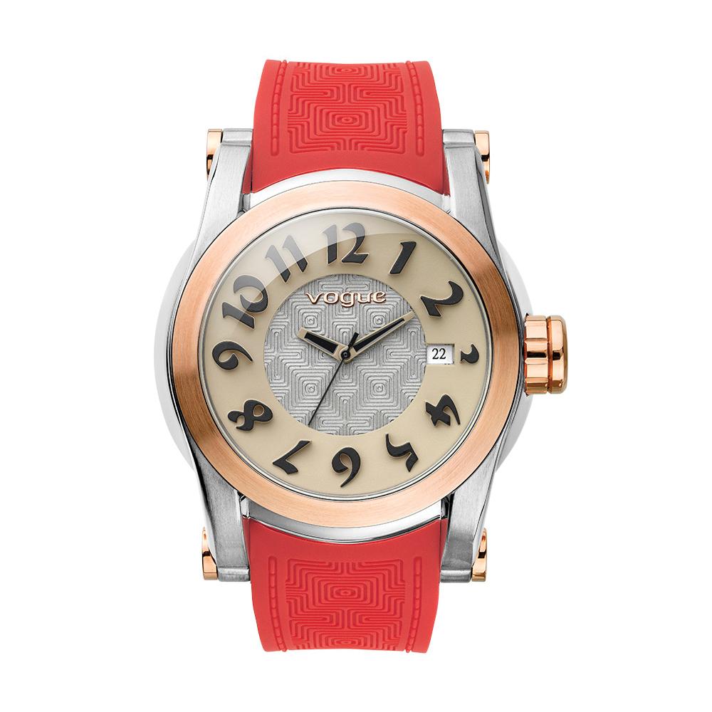 VOGUE – Γυναικείο ρολόι VOGUE κόκκινο