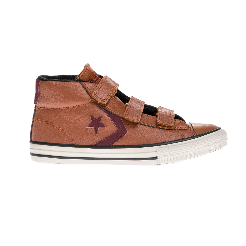 CONVERSE – Παιδικά παπούτσια Star Player 3V Mid καφέ