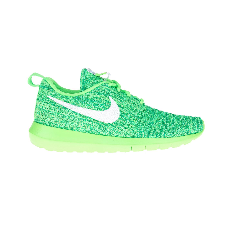 NIKE – Γυναικεία παπούτσια NIKE ROSHE NM FLYKNIT πράσινα