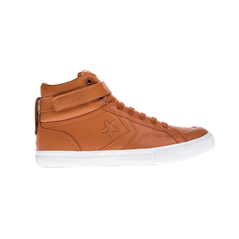 CONVERSE – Παιδικά παπούτσια Pro Blaze Strap HI καφέ