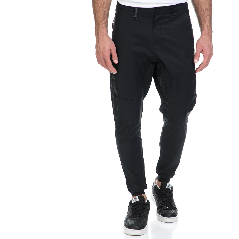 NIKE - Ανδρική φόρμα ΝΙΚΕ NSW BND JGGR WVN μαύρη ανδρικά ρούχα αθλητικά φόρμες