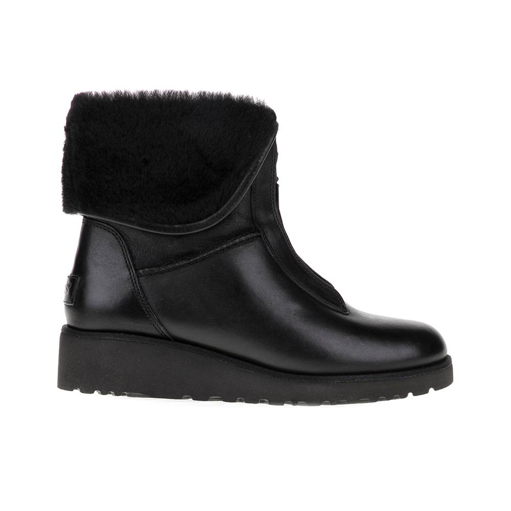 UGG - Γυναικεία μποτάκια CALEIGH UGG AUSTRALIA μαύρα γυναικεία παπούτσια μπότες μποτάκια μποτάκια