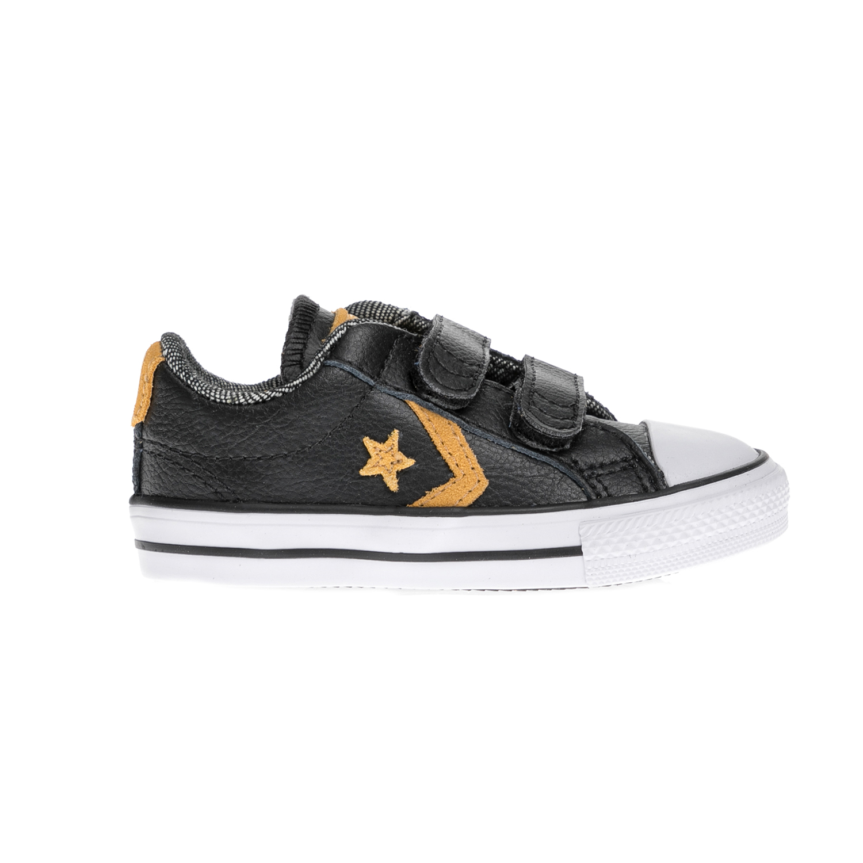 CONVERSE – Βρεφικά παπούτσια STAR PLAYER 2V OX μαύρα
