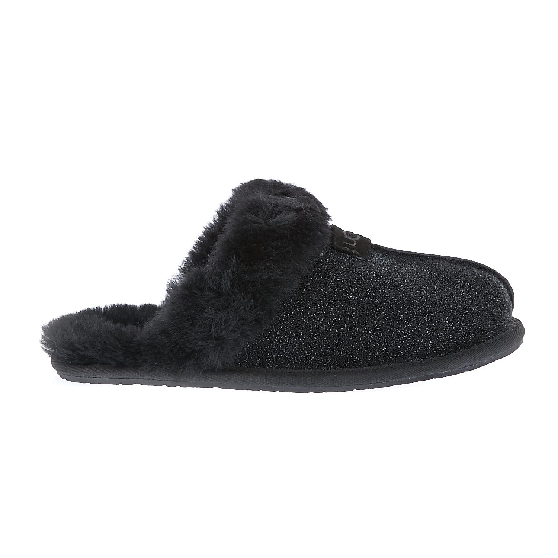 UGG AUSTRALIA - Γυναικείες παντόφλες Ugg Australia μαύρες γυναικεία παπούτσια παντόφλες