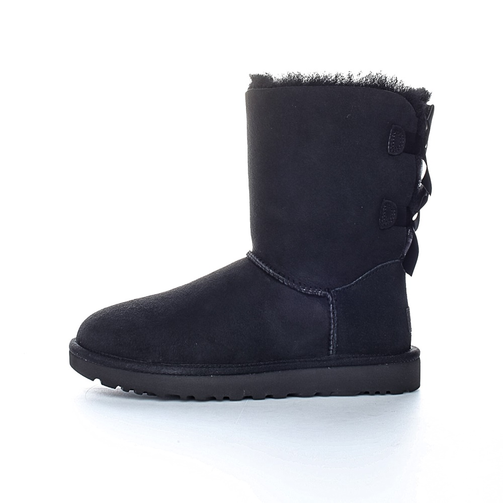 UGG - Γυναικεία μποτάκια BAILEY BOW 1.5 UGG μαύρα γυναικεία παπούτσια μπότες μποτάκια μποτάκια