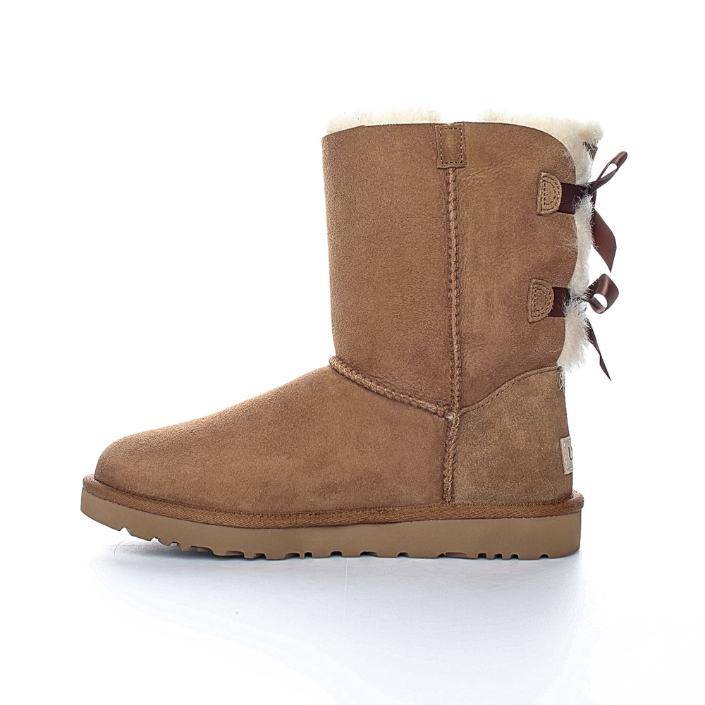 UGG - Γυναικεία μποτάκια BAILEY BOW 1.5 UGG ταμπά γυναικεία παπούτσια μπότες μποτάκια μποτάκια