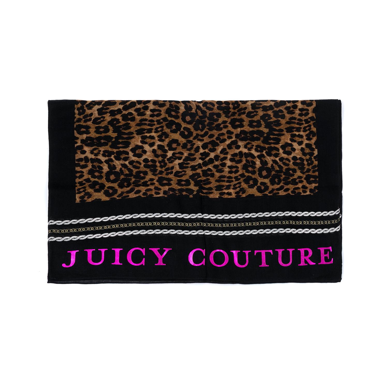 JUICY COUTURE - Γυναικείο φουλάρι JUICY COUTURE εμπριμέ γυναικεία αξεσουάρ φουλάρια κασκόλ γάντια
