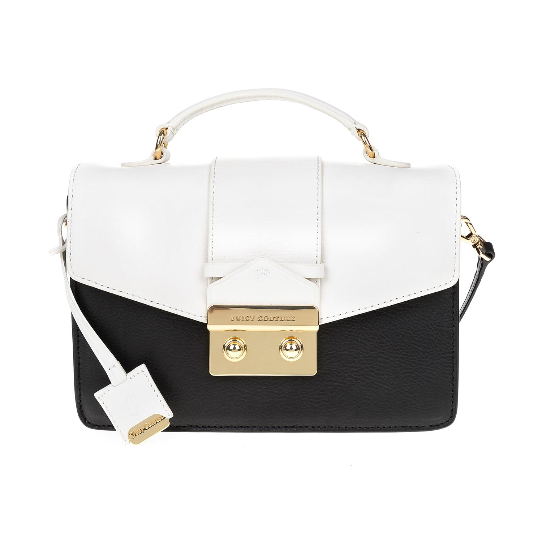JUICY COUTURE – Γυναικεία τσάντα JUICY COUTURE μαύρο-άσπρο 1474562.0-0071