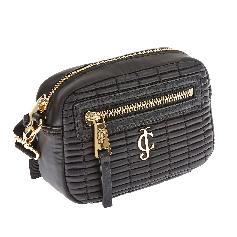 JUICY COUTURE – Γυναικεία τσάντα Juicy Couture μαύρη 1474575.0-0071