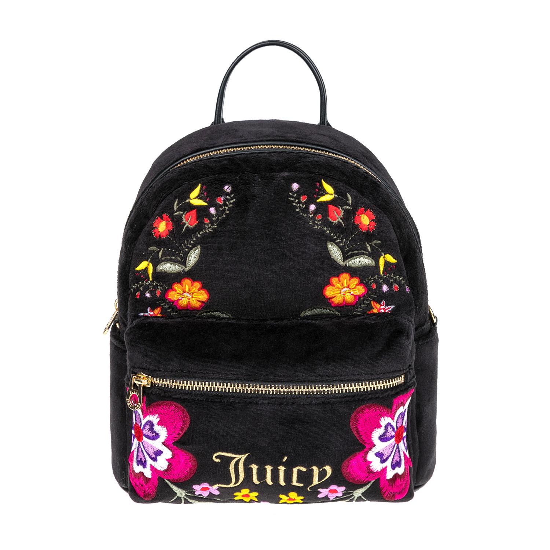 JUICY COUTURE – Γυναικεία τσάντα JUICY COUTURE μαύρη 1474577.0-0071