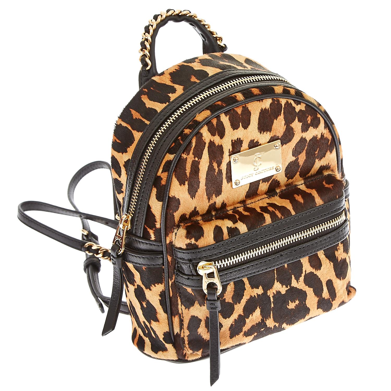 JUICY COUTURE – Γυναικεία τσάντα Juicy Couture μαύρη-καφέ 1474583.0-0000